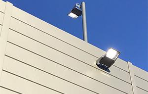 壁付LED照明写真